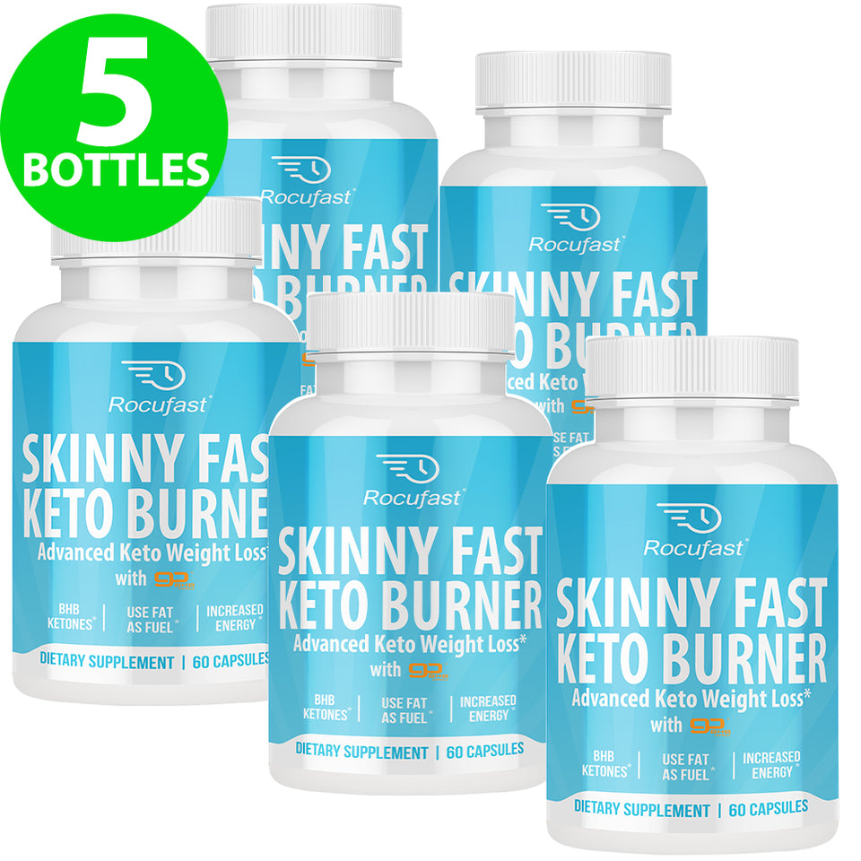 Mega Discount Plan  - 5 Bottles Skinny Fast $39.90/Bottle + FREE Shipping!