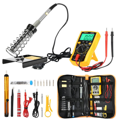 FSK - 166 Electronic Soldering Iron Kit with Temperature Control