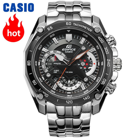 Casio Men's Watch Model EF-550D (Water Resistant 10Bar)