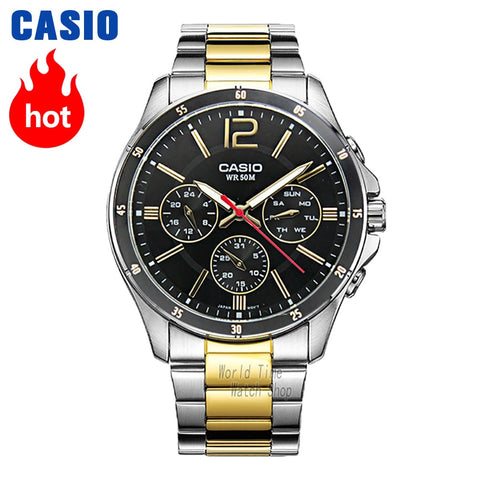 Casio Men's Watch Model  (Water Resistant 5Bar)