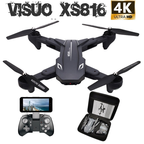 Visuo XS816 RC Drone with 50 Times Zoom WiFi FPV