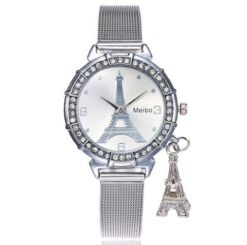 Luxury Women's Watch Eiffel Tower