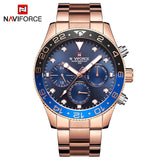 NAVIFORCE Men's Watch Model NF9147SRG (Water Resistant)