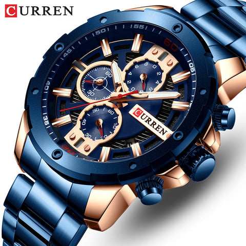 Curren Men's Model 8336-GBE (Water Resistant)