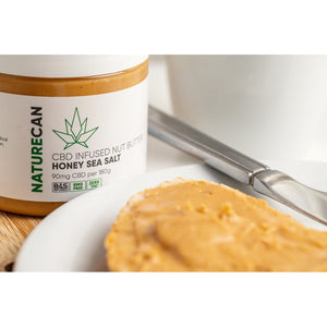 CBD Nut Butter - Honey Sea Salt