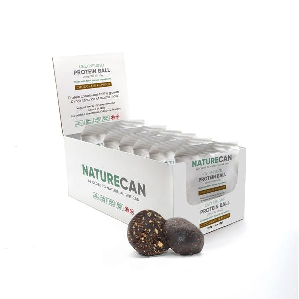 CBD Protein Ball - Box of 6