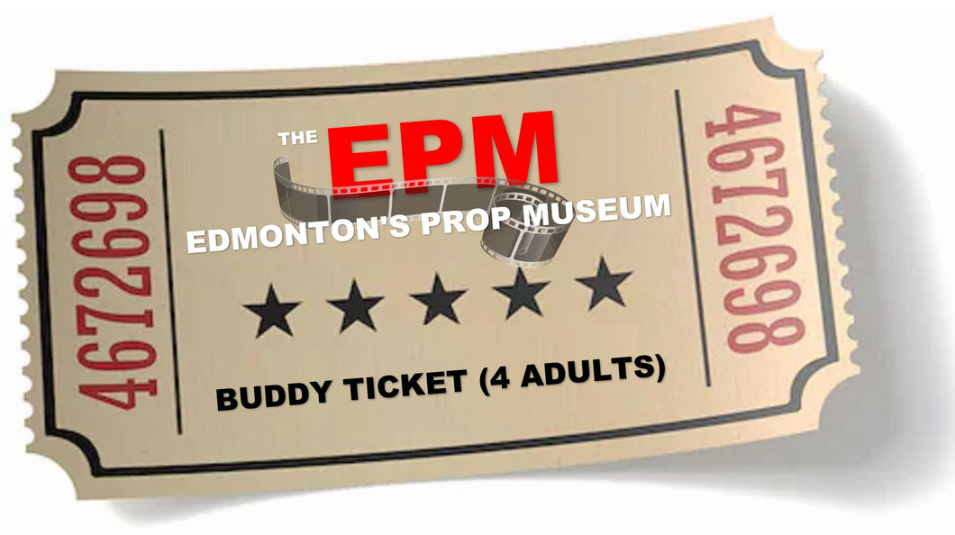 Museum Admission - Buddy Ticket