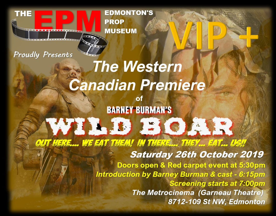 WILD BOAR Premiere VIP PLUS Package