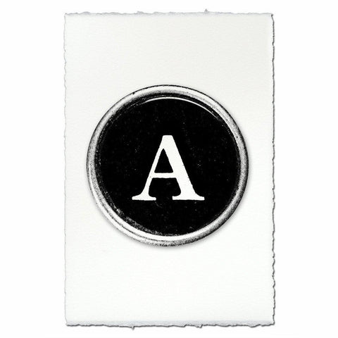 "Typewriter Key ""A"""