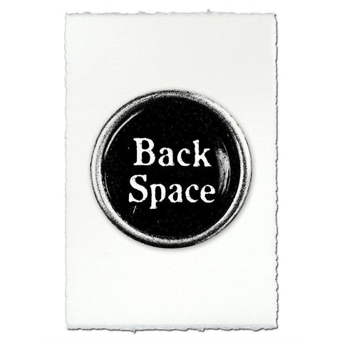 "Typewriter Key ""Back Space"""
