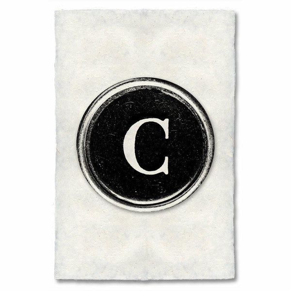 "Typewriter Key ""C"""