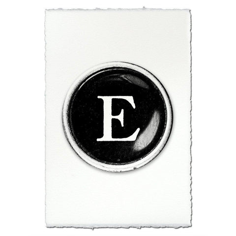 "Typewriter Key ""E"""