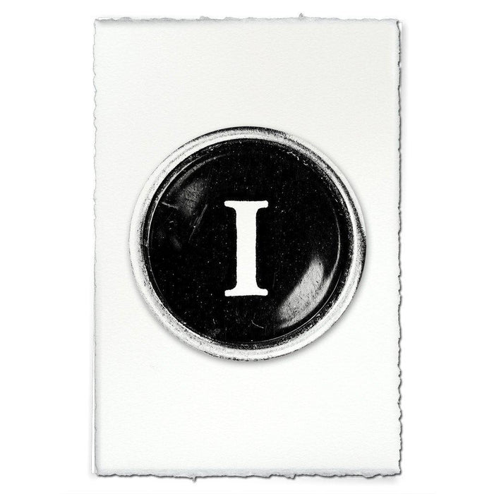 "Typewriter Key ""I"""