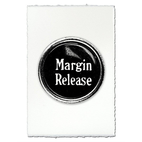 "Typewriter key ""Margin Release"""