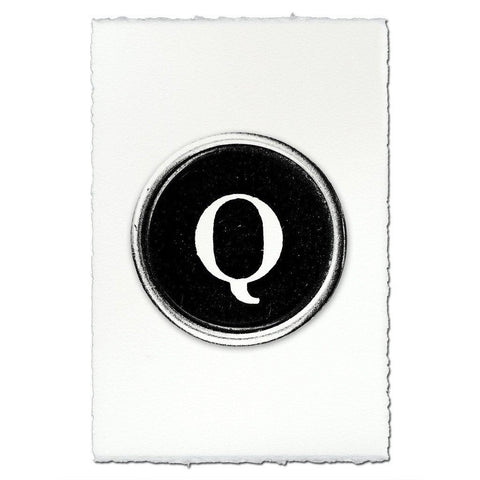"Typewriter Key ""Q"""