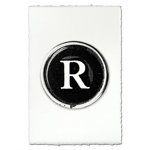 "Typewriter Key ""R"""