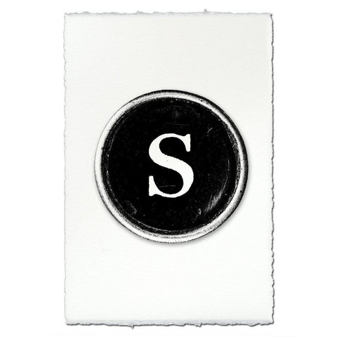 "Typewriter Key ""S"""