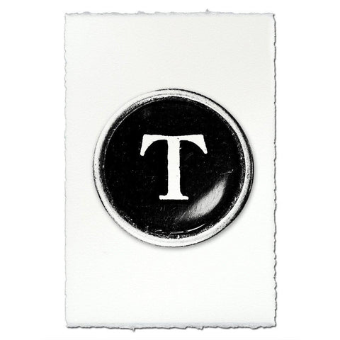"Typewriter Key ""T"""