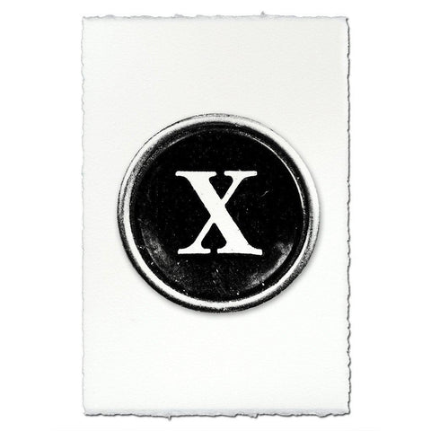 "Typewriter Key ""X"""