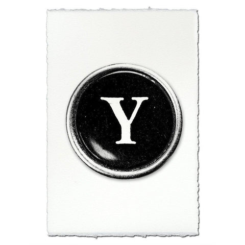 "Typewriter Key ""Y"""