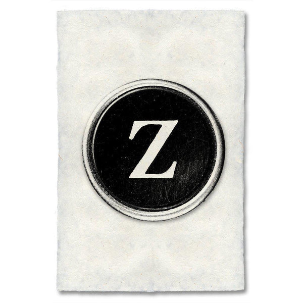 "Typewriter Key ""Z"""
