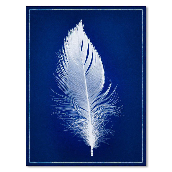 White Feather blue print