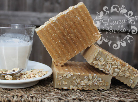 Goat Milk, Oats, Honey Soap