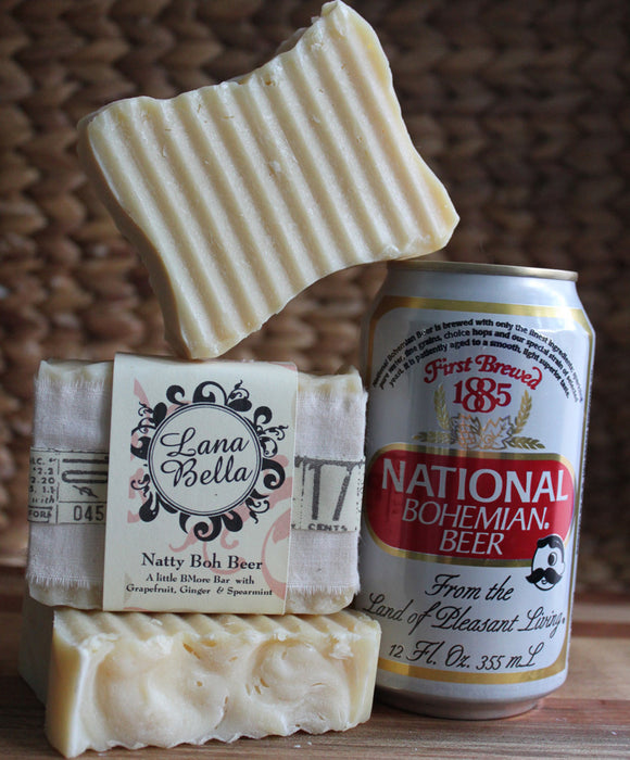 Natty Boh Beer Soap