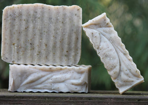 Petrichor cold process soap