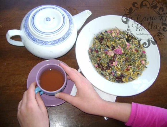 Pretty in Pink Tea