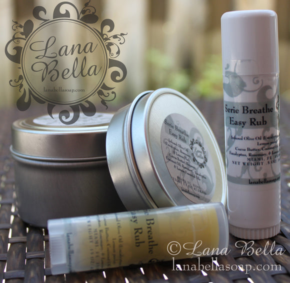 Serie Breathe Easy Balm