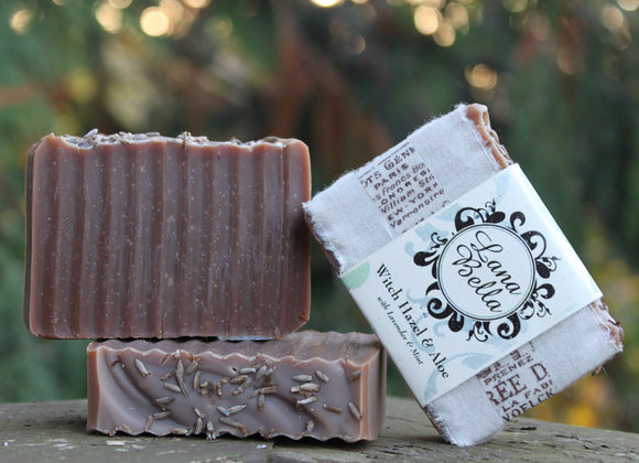 Witch Hazel & Aloe Soap