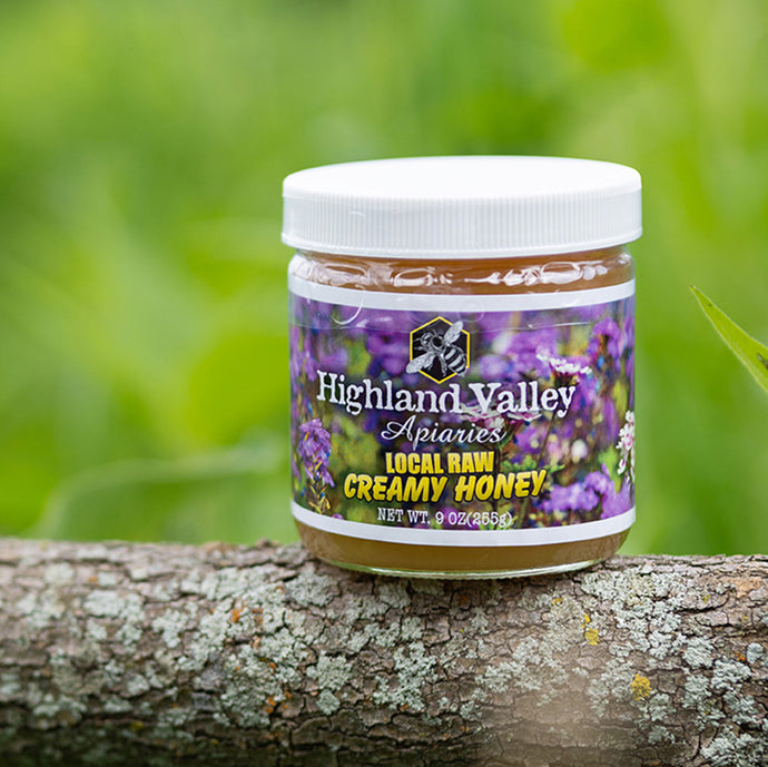 Creamy Raw Honey, 9oz