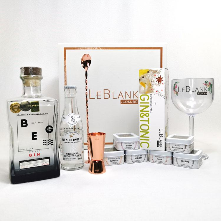 Kit Gin Beg Dry London Rosé Gold