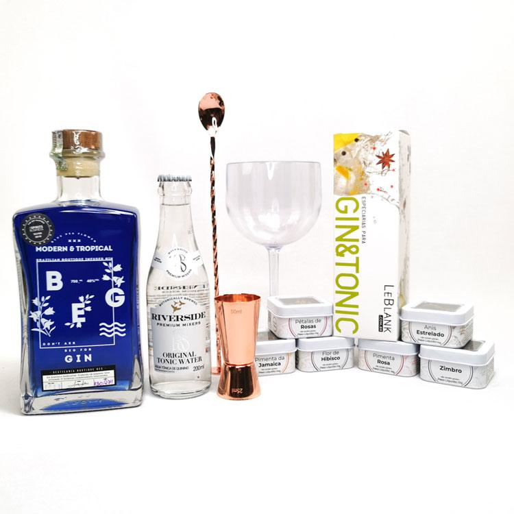 Kit Gin Beg Modern & Tropical Rosé Gold