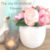 The Joy of Artificial Flowers