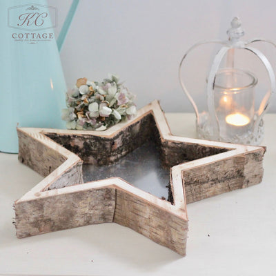 Birch Star Tray