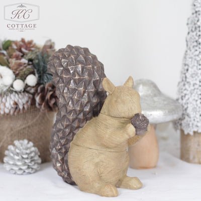 Wooden Tabletop Christmas Woodland Centrepieces