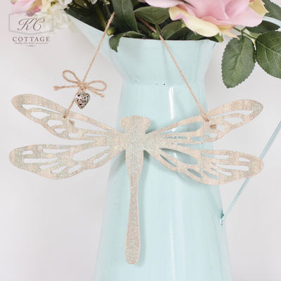 Hanging Wooden Dragonfly