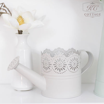 Lace Top Watering Can