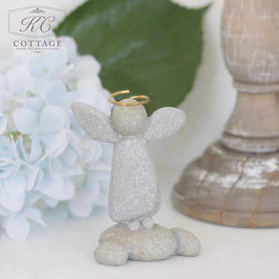 Standing Pebble Angel