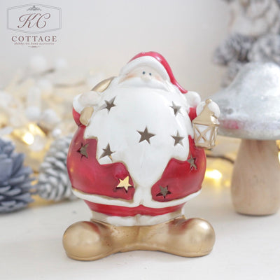 Christmas Santa Tea Light Holders