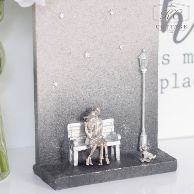 Stargazing Couple Ornament