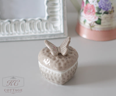 Butterfly Trinket Box Image