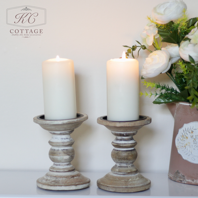Light Brown Round Style Candle Holder