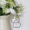 Nickel Hanging Hearts Set