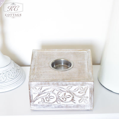 Shabby Chic Tea Light Holder