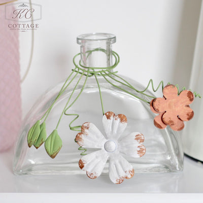 Glass Stem Vases