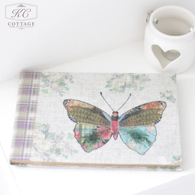 Floral Notebook Butterfly
