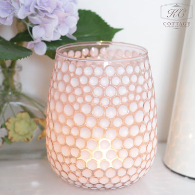 Elle Pink Tea Light Holder